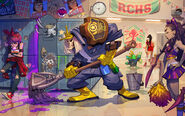 Janitor - Leoric - Heroes of the Storm