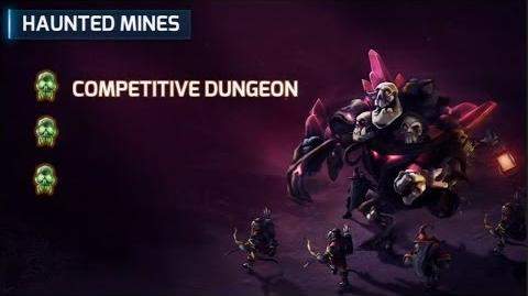 Heroes of the Storm - Haunted Mines Battleground Preview