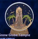 Spray - Snow Globe Temple