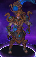 Xul - Serpent King - Copper