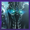 WOW Lich King Arthas Portrait