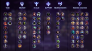 BlizzCon 2018 - Player roles - Heroes of the Storm