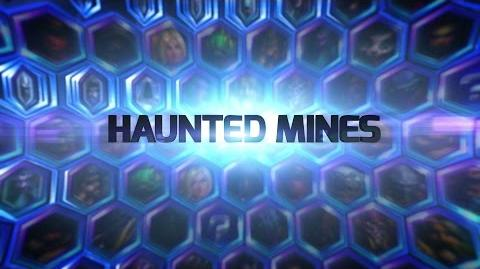 Heroes of the Storm Haunted Mines Battleground
