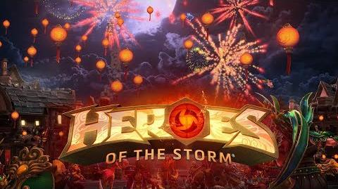 Heroes of the Storm Lunar New Year 2018