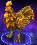 Golden Lunar Rooster