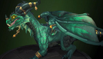 Alexstrasza - Green dragonflight dragon