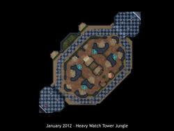 Heavy Watch Tower Jungle