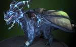 Alexstrasza - Blue dragonflight dragon