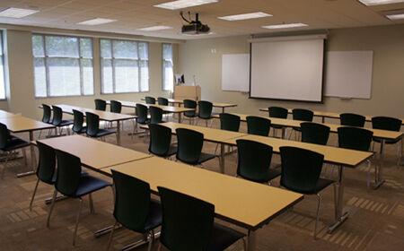 Costa Verde High History Classroom