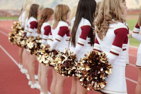 Costa Verde High Cheerleaders
