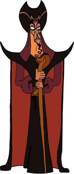 Jafar-Aladdin art