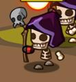 Skel Mage purple hood
