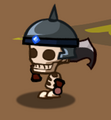 Skel helmet giant sword