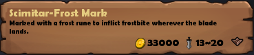 Scimitar-Frost Mark 2