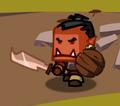 Wwolf sword and shield
