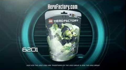 Hero Factory Character spot - Toxic Reapa (Reaper)!