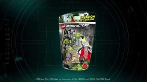 LEGO® Hero Factory - BREEZ FLEA MACHINE