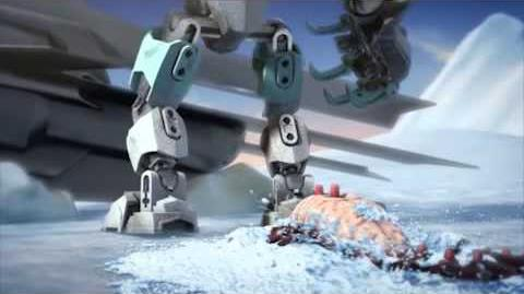 LEGO® Hero Factory Brain Attack - Transformation Frost Beast