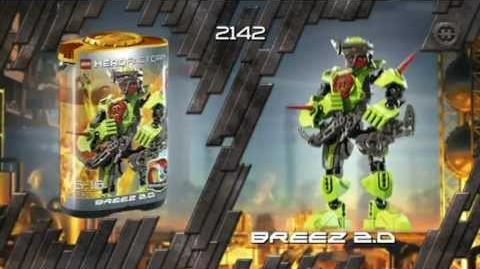 Hero Factory Hero 2.0 Full Advert