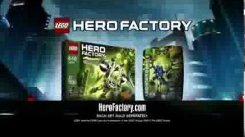 LEGO® Hero Factory Brain Attack - Jet Rocka vs Dragon Bolt TV Commercial