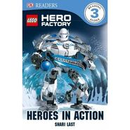 Stormer Heroes in Action Book