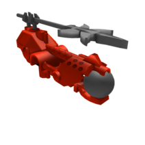 Furno's Aquajet Pack and Plasma Gun