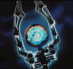Back Hole Orb Staff - TV series version