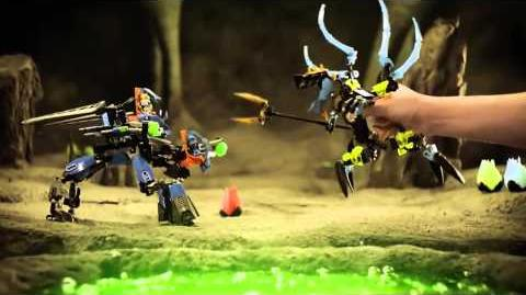 LEGO® Hero Factory - Combat Machine vs Queen Beast
