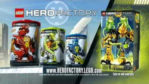 Hero Factory Furno vs Meltdown Advert (v2)