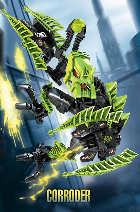 Corroder LEGO Hero Factory Villains 7156
