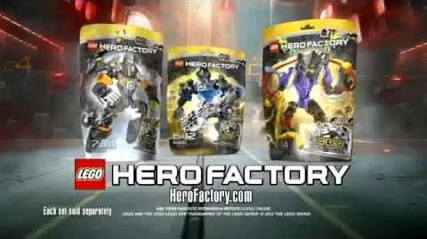 Hero Factory Stringer vs Voltix Advert (Better Quality)