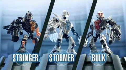 Hero Factory Stormer vs Von Nebula Advert (v1)