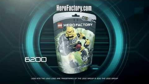 Hero Factory Character spot - Evo