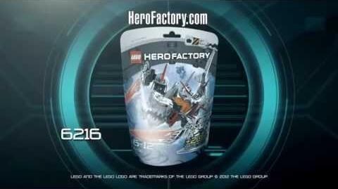 Hero Factory Character spot - JawBlade!