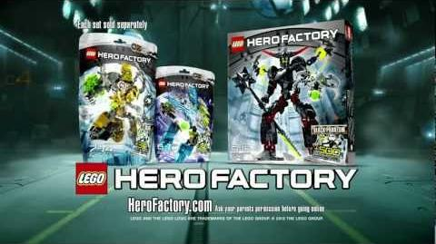 LEGO® Hero Factory - Rocka vs Black Phantom Advert HD
