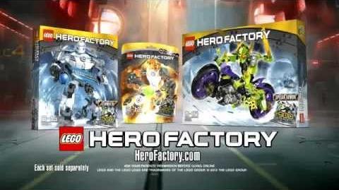 Hero Factory Stormer XL vs Speeda Demon Advert (Better Quality)