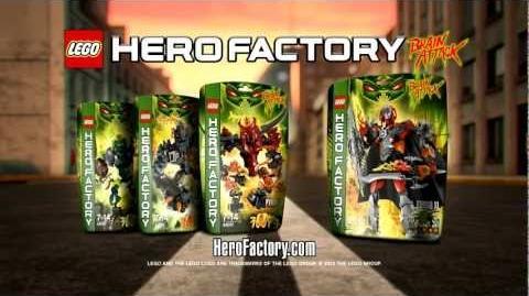 LEGO® Hero Factory Brain Attack - Furno vs Pyrox TV Commercial (EN) HD