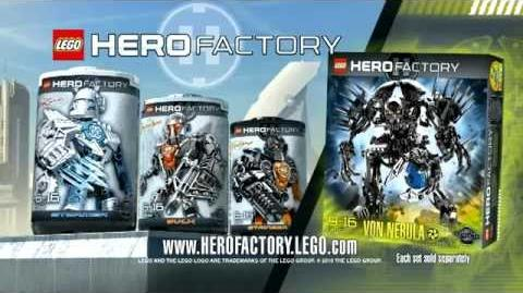 Hero Factory Stormer vs Von Nebula Advert (v2)
