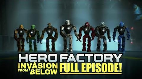 LEGO Hero Factory Invasion From Below FULL Movie Episode! HD (FIRST ON YOUTUBE)