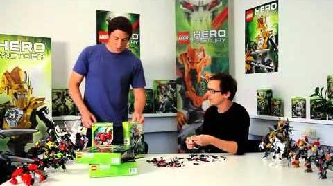 Hero Factory LEGO Designers Battle!