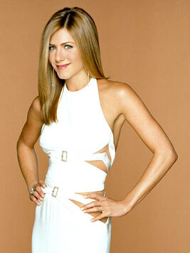 Jennifer Aniston as Rachel Green