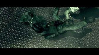 HD Resident Evil 5 SAS Chris become the Bad guy Cutscene!