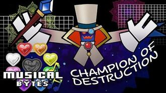 Super Paper Mario Musical Bytes - Champion of Destruction - Man on the Internet