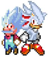 Hyper Mario and Hyper Shadic