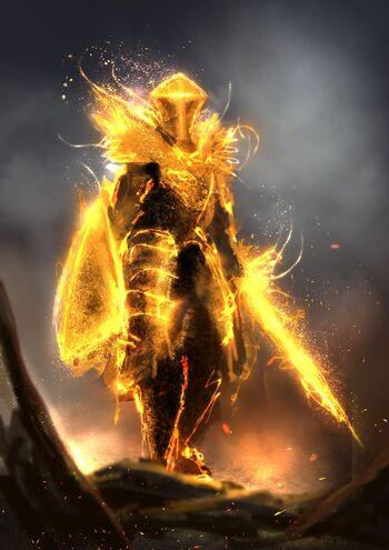Fire Divine Knight