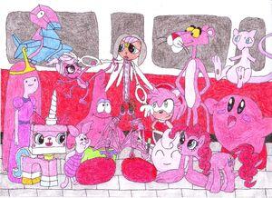Shadow Joe and Pink Characters0001