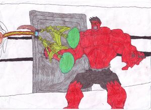 Shadow Joe Fights the Red Hulk0001
