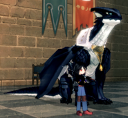 Chronicler and Dragora (Arc 3 LH)