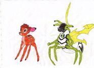Bambi and Stinkfly0001