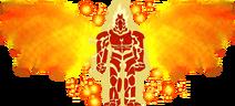 Sonicphantomxlvii super form by deadskullable ddut90k-fullview